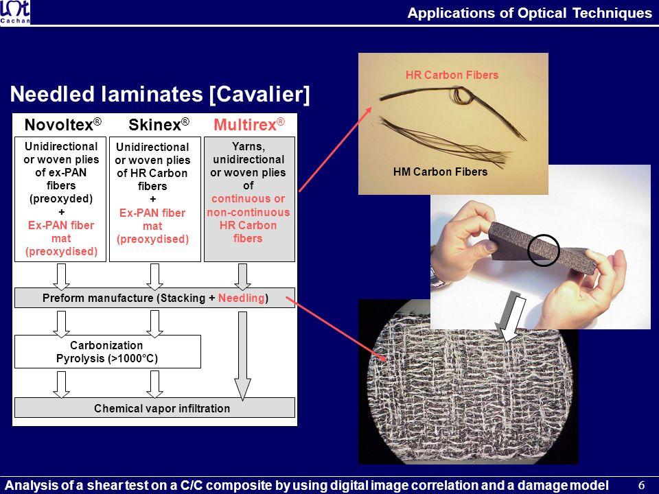 Needled laminates [Cavalier]